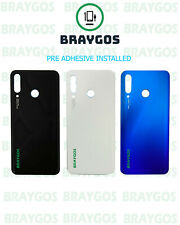 Rear Back Battery Cover For Huawei P30 Lite MAR-LX1A Glass With Adhesive