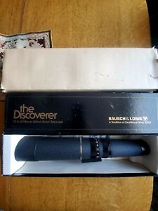 Bausch & Lomb Telescope The Discoverer 60mm Zoom 15-60 Power 78-1600 Bushnell