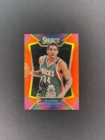 2014-15 Panini Select GIANNIS ANTETOKOUNMPO Red Prizm /149 SP 2nd Year Card #75