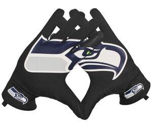 NEW Nike Seattle Seahawks NFL Football Fan Sphere Stadium Gloves Adult XS