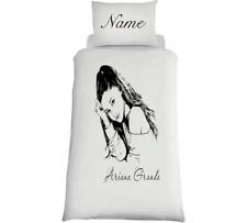ARIANA GRANDE *Personalised* White Bedding Set Duvet SINGLE OR DOUBLE