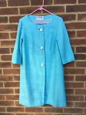 Vintage 1950s 1960s Blue Swing Coat On Trend Vintage Events Or Occasions S Chic