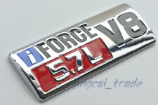 iFORCE 5.7L V8 Logo Big 3D Metal Auto Decal Badge Emblem for TOYOTA TUNDRA Red