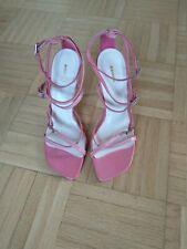 Riemchen-Sandalette Sandale Gr.37 Echtes Glattleder, neu NP. 80€