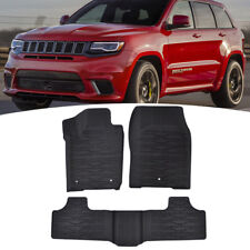 Front Rear Floor Mat Rubber For 2011-2013 2015-2018 Jeep Grand Cherokee 82213686