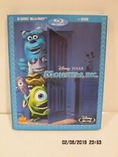 Monsters, Inc (Blu-ray/DVD, 2010, 3-Disc Set) DISNEY+PIXAR F/SHIP NEW SEALED PK