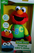 NEW: Sesame Street Singing ABC's Elmo Playskool Ages 18 Mo - 4 Years