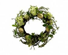 Gisela Graham Country Style Easter Home Wreath - Easter Wreath Decoration
