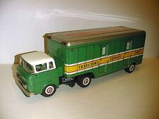 TRANSPORT EXPRESS TRACTOR TRAILER GOOD CONDITION WORKS MADE IN JAPAN