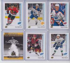17/18 UD Edmonton Oilers Connor McDavid Award Winner Collector Care card #97