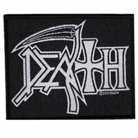 Death Logo Patch Official Heavy Metal Band Merch New