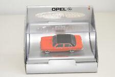 FF 1:43 SCHUCO CAR COLLECTION OPEL ASCONA A 1970-1975 ORANGE MINT BOXED