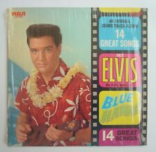 33T ELVIS PRESLEY-BLUE HAWAII-PRESSAGE AMERICAIN 1977-LSP 2426- CELLO-IN SHRINK