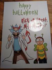 Boo Halloween spooky A4 glossy print
