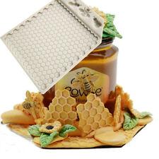 Bee Comb Silicone Mould Cake Decor Mat Sugar Craft Border Chocolate Baking Mold
