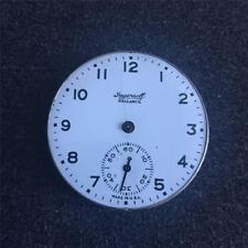 VINTAGE 16 SIZE INGERSOLL RELIANCE OPENFACE POCKETWATCH MOVEMENT