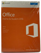 Microsoft Office Home & Student 2016 Windows 1 Pc - Sealed (New)