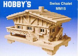 Swiss Chalet: MatchMaker Matchstick Model Craft Construction Kit