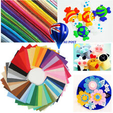 40pcs Acrylic Blend Felt Non-woven Fabric Mix Color DIY Craft Quilting 30*20cm M