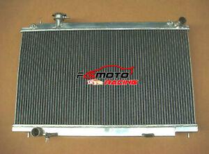 2 row Aluminum Radiator for Nissan Fairlady 350Z 2003 2004 2005 2006 Z33 Manual