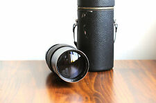 ELICAR Automatic (for Canon FD/FT)  200mm f/3.5  Telephoto lens * Made in Japan*