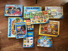 Lot of 10 Classic Ravensburger Educational Games / Puzzles