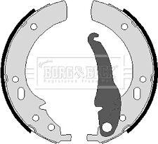 Brake Shoes BBS6056 Borg & Beck Set 34211111052 34211111852 34211112961 Quality