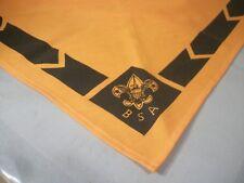 Boy Scouts of America Orange & Black Neckerchief