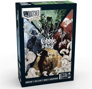 Unmatched Cobble & Fog Dracula Jekyll Hyde Holmes Invisible Mondo Games REO9304