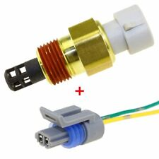 Intake Air Temperature Sensor For GM IAT MAT ACT 25037225 25036751 W/ Connector