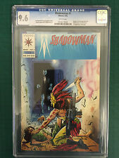 SHADOWMAN   #1  CGC  9.6  WHITE PAGES