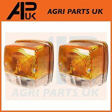 2 X Case International 585 684 685 956XL Tractor Front Side Indicator Light Lamp