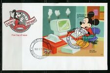 St. Vincent Grenadines Disney Mickey'S Birthday 1997 S/S Iii First Day Cover