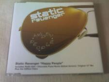 STATIC REVENGER - HAPPY PEOPLE - HOUSE CD SINGLE