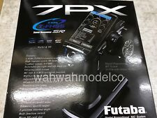 FUTABA 7PX 2.4GHz T-FHSS Super Response 7 Channel Surface w/R334SBSx2 In Stock
