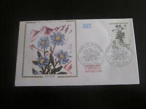 enveloppe premier jour 1983 flore et faune de france aster