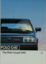 Volkswagen Polo 1994 Sales Car Brochures