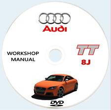 Audi TT 8J,Manuale Officina,Audi TT 8J service manual