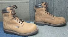 "Mens Thorogood V-Series 8"" Waterproof Composite Toe Work Boot 11 W ~ Excellent"