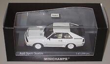 Auto Modell Audi Sport Quattro alpine weiß 1/43 von 1984 NEU OVP 1:43 Minichamps