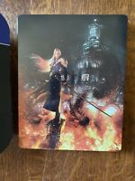 *EXCLUSIVE* Final Fantasy VII Remake FF7 Steelbook & Sleeve (NO GAME INCLUDED)