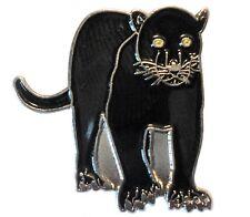 Black Panther Big Cat Family Feline Wildcat Wildlife Metal Enamel Badge 25mm New