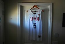 KD Kevin Durant USA Jersey Nike White NEW Size Medium