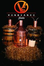 20 Gallon ELECTRIC Copper Whiskey Moonshine Still Kit worm and thumper