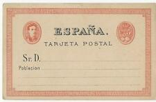 Spain stationery post card