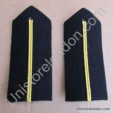 Epaulette Curved Hard Gold Russia Braid Deck Officer Trainee R1120