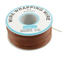 1pcs 0.25mm Wire-Wrapping Wire 30AWG Cable 250m brown