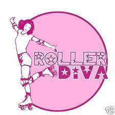 Roller Diva Derby Skate Funny Vintage Look T-shirt