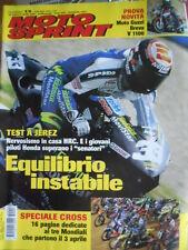 Motosprint 13 2005 test novità Moto Guzzi Breva V 1100 - Speciale Cross Mondiale