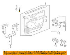TOYOTA OEM 97-01 Camry Front Door-Door Trim Panel Plug 9095001746E0